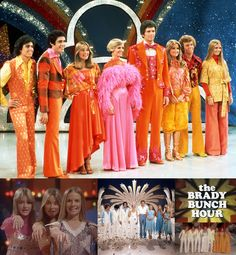 """The Brady Bunch Hour (1976-77, ABC) is an American variety television series produced by Sid & Marty Krofft. The series stars the original cast members of The Brady Bunch, with the exception of Eve Plumb, who was replaced by Geri Reischl (who became known as """"The Fake Jan""""). The show began as a 60-minute special titled The Brady Bunch Variety Hour on November 28, 1976. This special led to eight additional 60-minute episodes."""