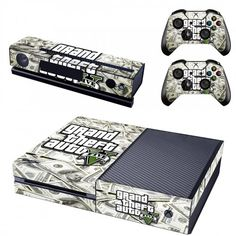 Cheap sticker design, Buy Quality stickers stickers directly from China stickers for xbox one Suppliers: New Skin Sticker of Grand theft auto Decals Designed for Xbox One Console & Kinect & 2 Controller Xbox One Video, Video Games Xbox, Xbox Games, Xbox One Skin, Grand Theft Auto, Gta V Xbox One, Microsoft, First Video Game, Gta 5 Online