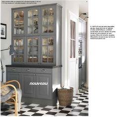 Ikea- wall by sliding doors