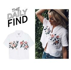 The Daily Find: Rails Shirt by polyvore-editorial on Polyvore featuring polyvore, fashion, style, clothing and DailyFind