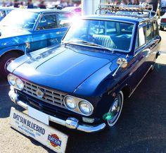 ダットサン・ブルーバード(2代目)410型系(1963年 – 1967年)/10回門司港レトロカーミーティング | ブログ好きBlog-Let's enjoy life
