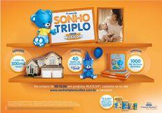 A marca de cereal infantil Mucilon está com uma promoção bem bacana e vai premiar com uma casa, livrinhos infantis e festas de aniversário. www.sonhotriplomucilon.com.br  Mais detalhes no blog: http://mamaepratica.com.br/2015/06/25/promocao-sonho-triplo-mucilon/