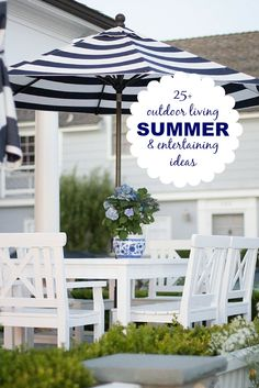 Click through for some Summer Fun! Party planning, DIY projects and refreshing Summer recipes.
