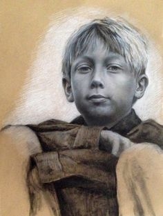 """Josef"" 42x60 cm / Pastel / 2013"