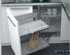 muebles extraible de bajo fregadero