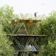 Penda's+modular+bamboo+hotel+could+be++expanded+horizontally+and+vertically