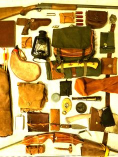 Vintage Bushcrafting Kit.