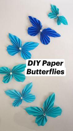 Diy Crafts For Girls, Diy Crafts To Do, Diy Crafts Hacks, Paper Crafts For Kids, Diy Arts And Crafts, Diy Projects, Paper Flowers Craft, Paper Crafts Origami, Flower Crafts