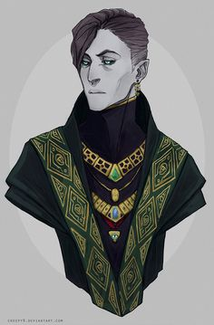 The Autumn King [Commission Milos by creepy9 on deviantART]