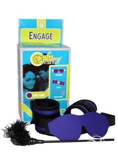Buy Whip Smart Engage Bondage Kit Exotic Purple online cheap. SALE! $51.49