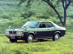 Mitsubishi Colt galant coupe 1975-76