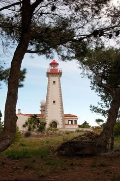 Lighthouse at Cap Leucate - France