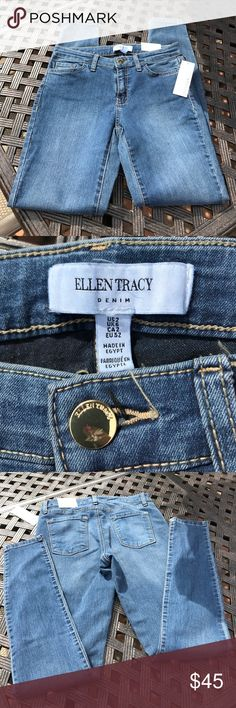 BNWT ELLEN TRACY JEANS 👖 THE SKINNY SIZE 2 😘 BNWT ELLEN TRACY JEANS 👖 THE SKINNY SIZE 2 😘 in medium wash so comfortable and has a little stretch which always makes me feel better 🖤. HIT BUY BUTTON OR BUNDLE FOR A BETTER DISCOUNT. EVERYTHING MUST GO. CLOSET CLEARANCE N I AM WILLING TO ACCEPT MOST OFFERS. GOD BLESS MY POSHERS XO Ellen Tracy Pants