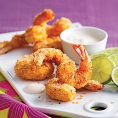 Crevettes coco-panko - Recettes - Cuisine et nutrition - Pratico Pratique