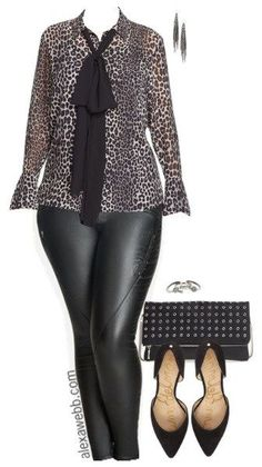 Plus Size Happy Hour Outfit - Plus Size Fashion for Women - alexawebb.com