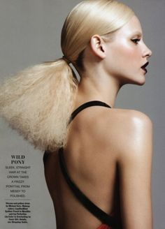 Trendy Ideas For HairStyles 2018 Ginta Lapina for Allure July 2011 Hair Editorial by Nicolas Moore 1 Editorial Hair, Beauty Editorial, Creative Hairstyles, Cool Hairstyles, Fashion Hairstyles, Beauty Shoot, Hair Beauty, Beauty Makeup, Hair Inspo