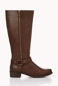 Runaround Harness Boots | FOREVER 21 - 2000050571