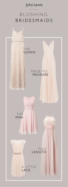 For the best-dressed top table look, choose from our blushing bridesmaid dresses and elegant occasionwear collection to suit all shapes and sizes. With this extensive range, we have something for everyone no matter what your budget or colour scheme is.