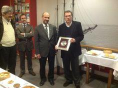 Naval Povoense homenageia Macedo Vieira pelo apoio prestado ao clube