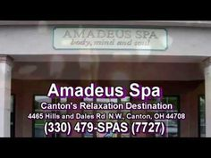 AMADEUS SPA CANTON * CANTON'S RELAXATION DESTINATION * (330) 479-7727
