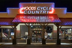 Woods lights up #WoodsCycleCountry