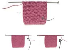 Knitted Baby Cardigan – PINK LADY – Crochet , Knitted Baby Cardigan – PINK LADY – Now we are going to join both pieces. If everything is correct, we must knit with Knitting. Baby Knitting Patterns, Baby Cardigan Knitting Pattern Free, Baby Sweater Patterns, Knitted Baby Cardigan, Knitted Booties, Knit Baby Sweaters, Easy Knitting, Baby Patterns, Cardigan Pattern