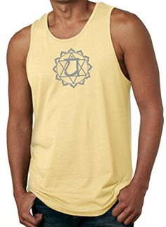 Yoga Clothing For You Mens Ganesha Lightweight Tanktop