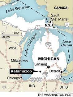 You're going where? Kalamazoo is tired of your Creedence Clearwater jokes - The Washington Post