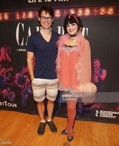 Randy Harrison and Andrea Goss attend Cabaret' Sneak Peak at Adrienne Arsht Center for the Performing Arts on April 13, 2016 in Miami, Florida.