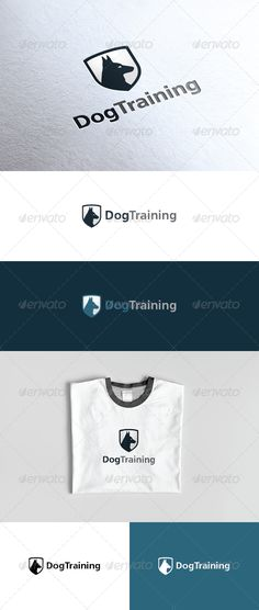 Dog Training Logo  #GraphicRiver         An excellent logo template in high quality and easy to use with editable font and colors.  	 Included are: Ai (Cs and Cs5 version, vector, CMYK color) EPS (10 and Cs5 version, vector, CMYK color) PSD (Cs5 version, pixel resolution 300dpi, CMYK color) Help file (download font link included)  	 Please click the screenshots button to see what logo versions are included and how they can be applied in different materials (NOTE only the files with text…