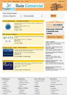 Guia comercial de empresas e serviços.