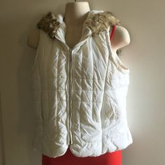 White, short sleeve jacket White, short sleeve jacket with hoody Charlotte Russe Jackets & Coats