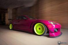 Pink & Green RX8 #dazehub