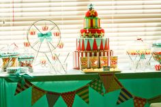 Vintage Circus Party #vintagecircus #party