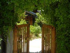 Maloof garden gates