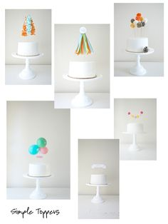 Monday Favourites - Simple Cake Toppers | Mrs A in The Cove