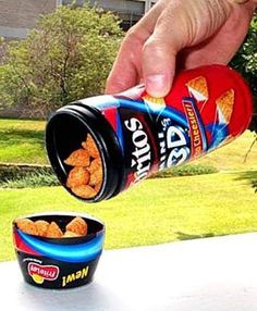 3D Doritos were launched in the early 2000's and discontinued a few years later. Who else remembered these?! They rocked!!