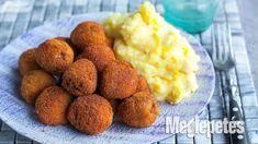 Holland bitterballen krémsajtos burgonyapürével | Meglepetés Holland, Bors, Vaj, Ethnic Recipes, The Netherlands, Netherlands