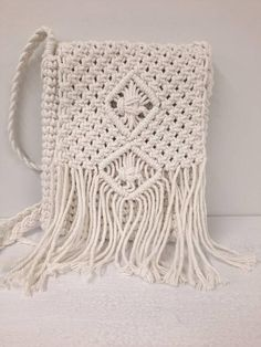Crochet Handbags, Crochet Bags, Crochet Cord, Bag Women, Bohemian Summer, Macrame Bag, Summer Bags, Handmade Items, Summer Outfits