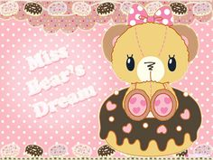Miss Bear's Dream  by kawaiiprincess2.deviantart.com on @deviantART