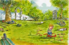disappointed kid sitting toy plane in an isolated garden Children's Book Illustration, Book Illustrations, Childrens Books, Illustrators, Disappointed, Plane, Artwork, Kids, Toy