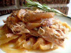 Honey Ginger Apple Shredded Pork