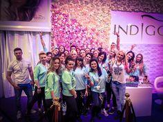 Wiosenne targi Beauty Forum   Jedną z niespodzianek, które przygotowaliśmy jest 7 metrowa ściana z róż #nails #nail #rose #wall #champion #indigo #love #omg #wow #trade  #fair