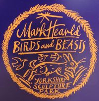 Mark Hearld: Birds & Beasts exhibition at Yorkshire Sculpture Park