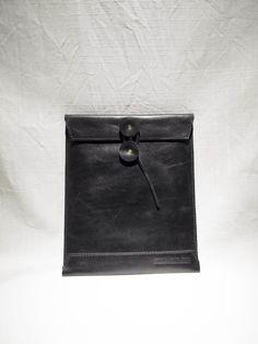 ipad case Aaron Sha handmade leather Goods