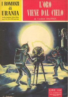 69  L'ORO VIENE DAL CIELO 30/1/1955  METAL DE MORT  Copertina di  C. Caesar   VARGO STATTEN