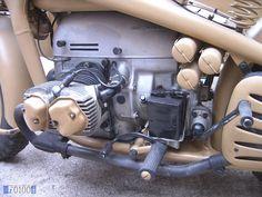 ZÜNDAPP KS 750 KS750 Diesel Punk, Ural Motorcycle, Military Diorama, German Army, Sidecar, Diesel Engine, Scale Models, Cars And Motorcycles, Motorbikes