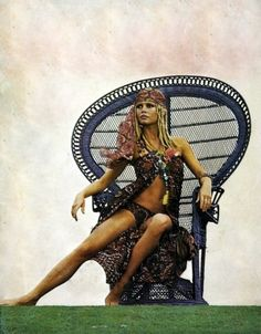 queen of boho chic - Brigitte Bardot by vivian