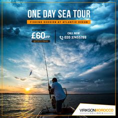 A Fun Day at Atlantic Ocean Book with at £ for the relaxing day at Atlantic Ocean with the fishing session, Call Beautiful Places To Visit, Wonderful Places, Agadir, Morocco Travel, Relaxing Day, Atlantic Ocean, Holiday Destinations, Marrakech, Good Day