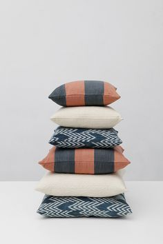 Pillow Stack Schuck at Lin Morris